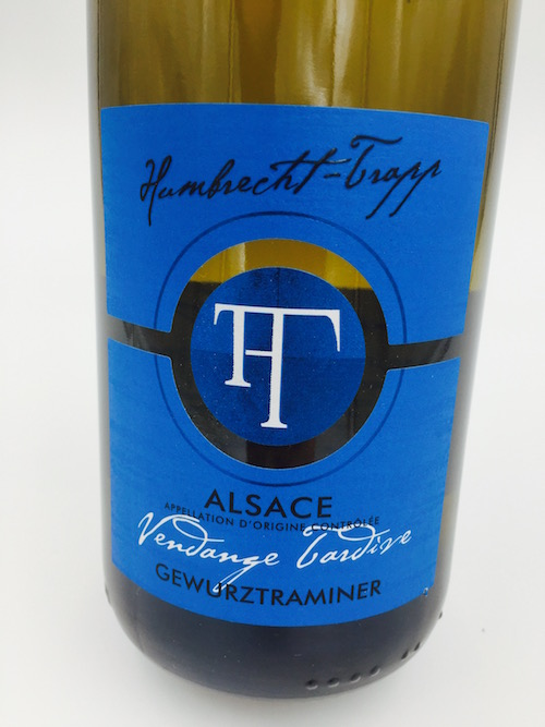 Gewurztraminer 2009 vendanges tardives