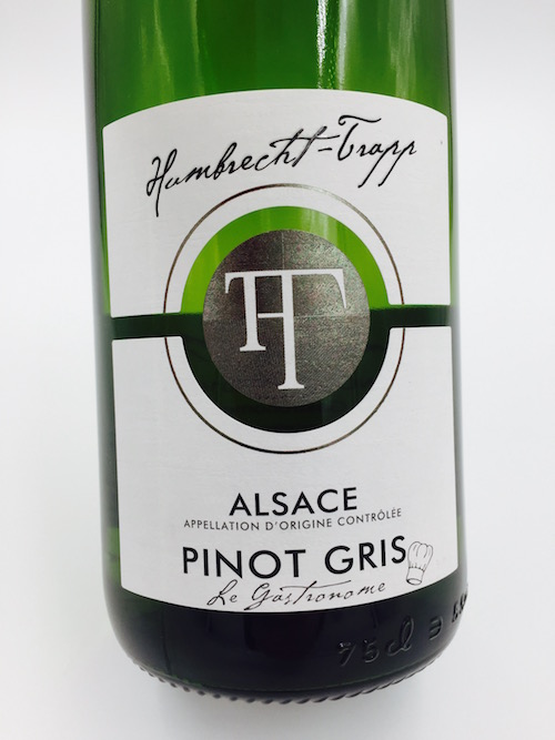 Pinot gris 2016 le gastronome